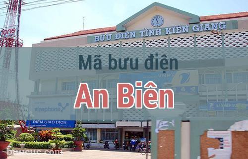 Mã bưu điện An Biên, Kiên Giang