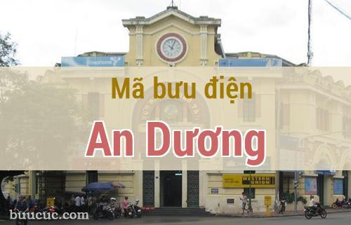 Mã bưu điện An Dương, Hải Phòng