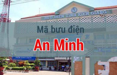 Mã bưu điện An Minh, Kiên Giang