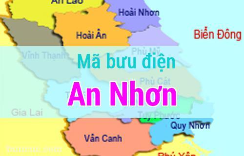 Mã bưu điện An Nhơn, Bình Định