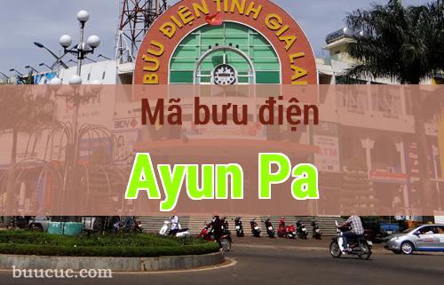 Mã bưu điện Ayun Pa, Gia Lai