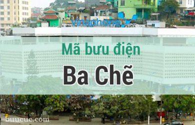 Mã bưu điện Ba Chẽ, Quảng Ninh