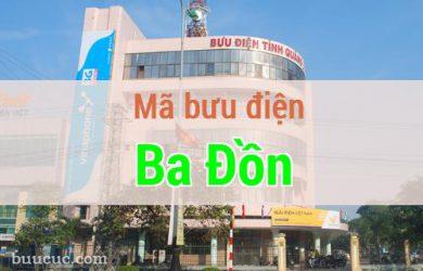 Mã bưu điện Ba Đồn, Quảng Bình