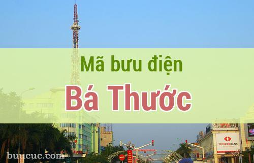 Mã bưu điện Bá Thước, Thanh Hoá