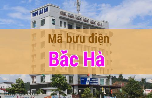 Mã bưu điện Bắc Hà, Lào Cai