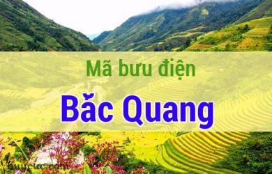 Mã bưu điện Bắc Quang, Hà Giang