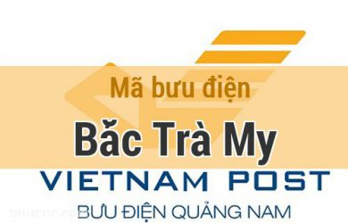 Mã bưu điện Bắc Trà My, Quảng Nam