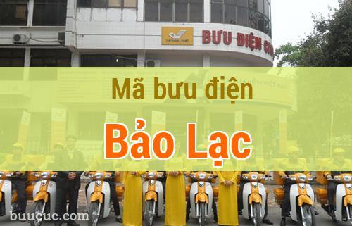 Mã bưu điện Bảo Lạc, Cao Bằng