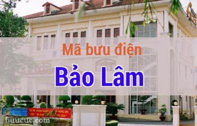 Mã bưu điện Bảo Lâm, Lâm Đồng