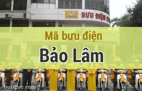 Mã bưu điện Bảo Lâm, Cao Bằng