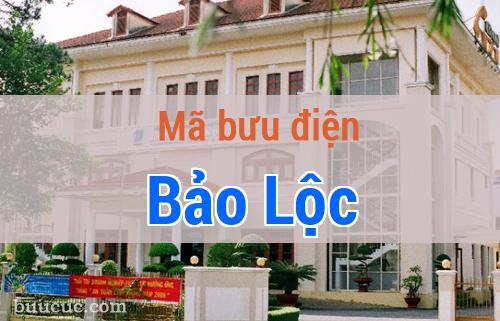 Mã bưu điện Bảo Lộc, Lâm Đồng