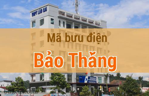 Mã bưu điện Bảo Thắng, Lào Cai