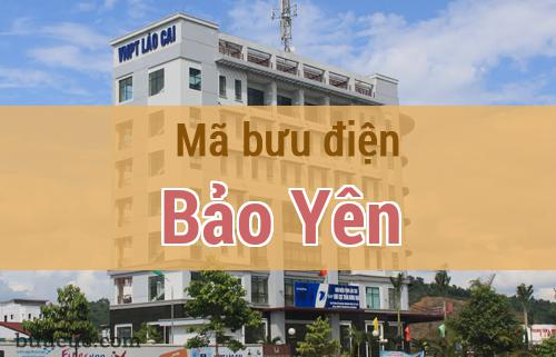 Mã bưu điện Bảo Yên, Lào Cai