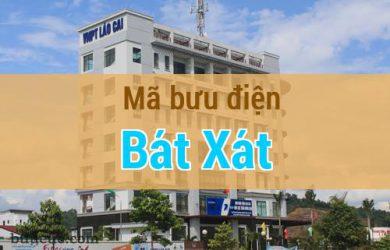 Mã bưu điện Bát Xát, Lào Cai