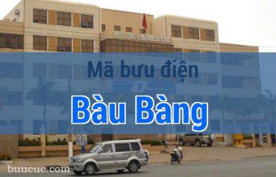 Mã bưu điện Bàu Bàng, Bình Dương
