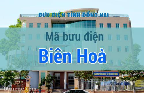 Mã bưu điện Biên Hoà, Đồng Nai