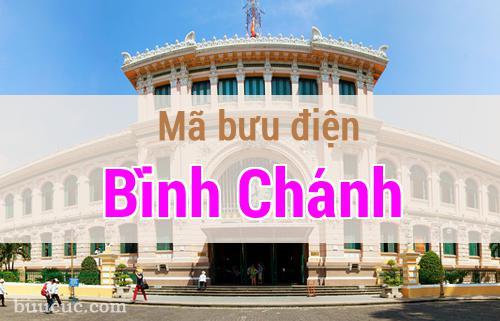 Mã bưu điện Bình Chánh, Hồ Chí Minh