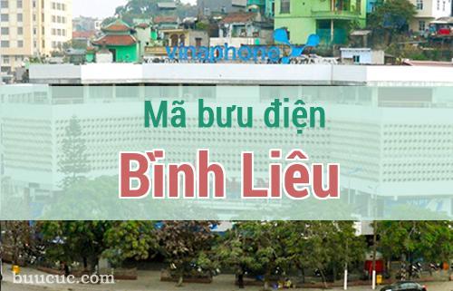 Mã bưu điện Bình Liêu, Quảng Ninh