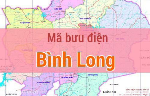 Mã bưu điện Bình Long, Bình Phước