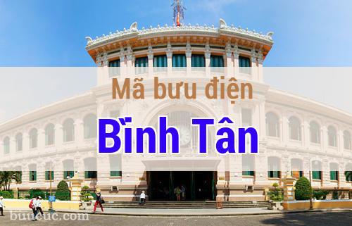 Mã bưu điện Bình Tân, Hồ Chí Minh