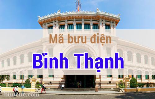 Mã bưu điện Bình Thạnh, Hồ Chí Minh