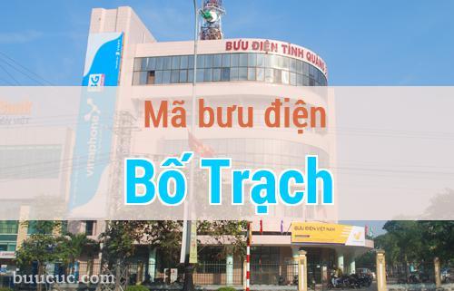 Mã bưu điện Bố Trạch, Quảng Bình