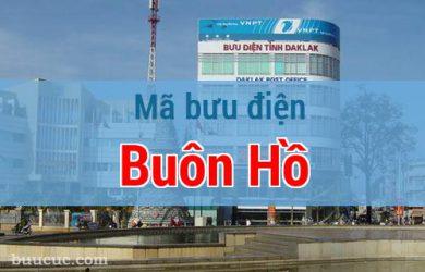 Mã bưu điện Buôn Hồ, Đắk Lăk