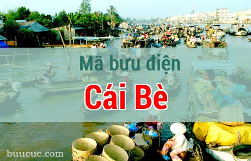 Mã bưu điện Cái Bè, Tiền Giang