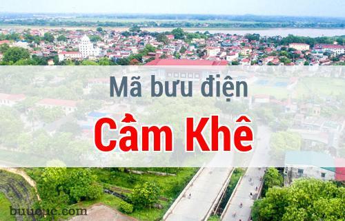 Mã bưu điện Cẩm Khê, Phú Thọ