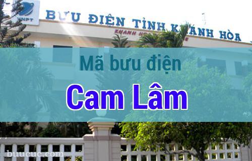 Mã bưu điện Cam Lâm, Khánh Hoà