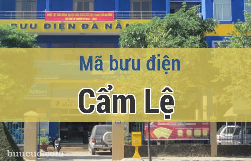 Mã bưu điện Cẩm Lệ, Đà Nẵng
