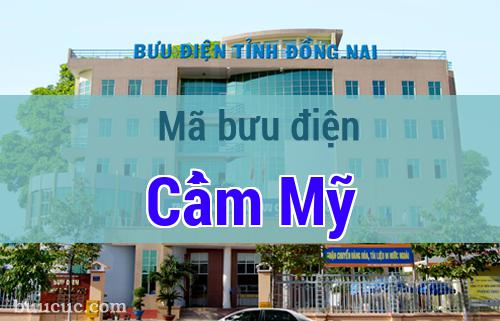 Mã bưu điện Cẩm Mỹ, Đồng Nai