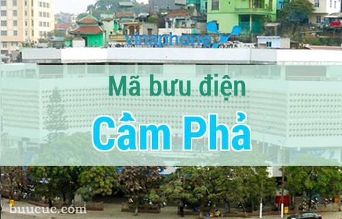 Mã bưu điện Cẩm Phả, Quảng Ninh