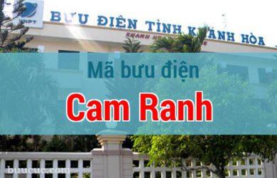 Mã bưu điện Cam Ranh, Khánh Hoà