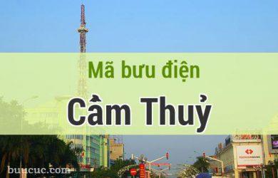 Mã bưu điện Cẩm Thuỷ, Thanh Hoá