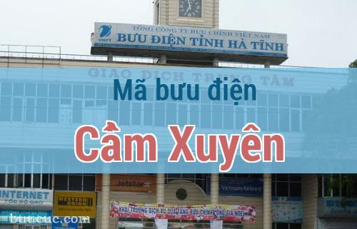 Mã bưu điện Cẩm Xuyên, Hà Tĩnh