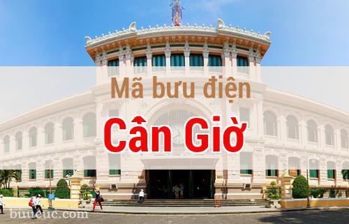 Mã bưu điện Cần Giờ, Hồ Chí Minh