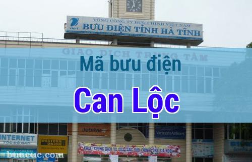 Mã bưu điện Can Lộc, Hà Tĩnh