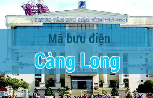 Mã bưu điện Càng Long, Trà Vinh
