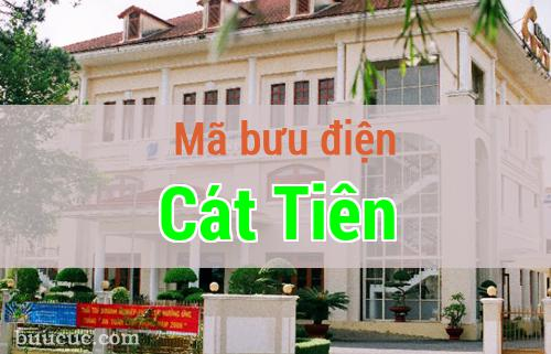 Mã bưu điện Cát Tiên, Lâm Đồng