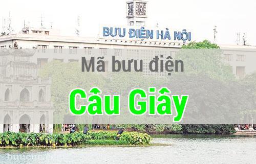 Mã bưu điện Cầu Giấy, Hà Nội