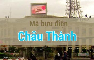 Mã bưu điện Châu Thành, Tây Ninh