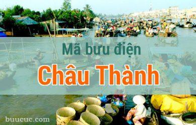 Mã bưu điện Châu Thành, Tiền Giang