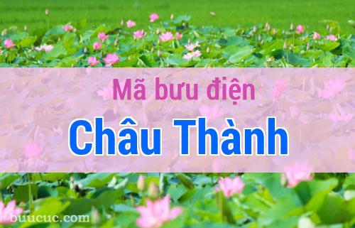 Mã bưu điện Châu Thành, Đồng Tháp