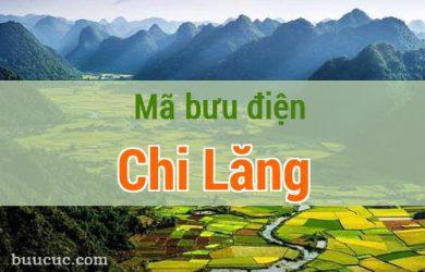Mã bưu điện Chi Lăng, Lạng Sơn
