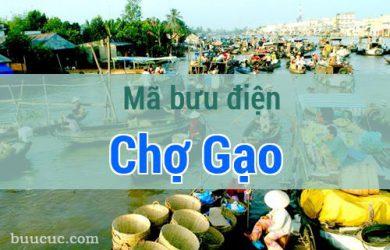 Mã bưu điện Chợ Gạo, Tiền Giang