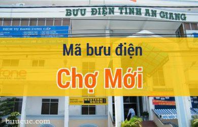 Mã bưu điện Chợ Mới, An Giang