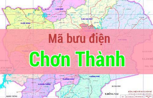 Mã bưu điện Chơn Thành, Bình Phước