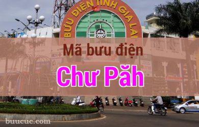 Mã bưu điện Chư Păh, Gia Lai