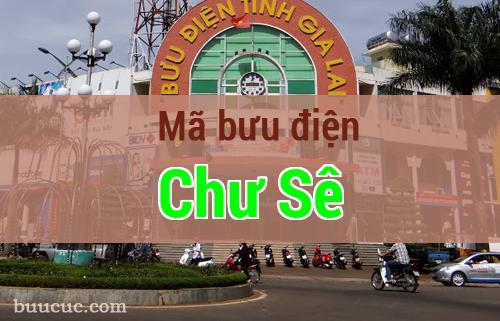Mã bưu điện Chư Sê, Gia Lai
